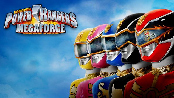 Netflix Serie - Power Rangers: Megaforce - Nu op Netflix