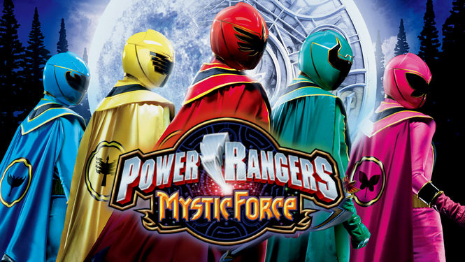 Netflix Serie - Power Rangers Mystic Force - Nu op Netflix