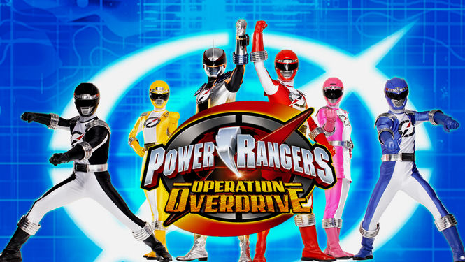 Netflix Serie - Power Rangers Operation Overdrive - Nu op Netflix