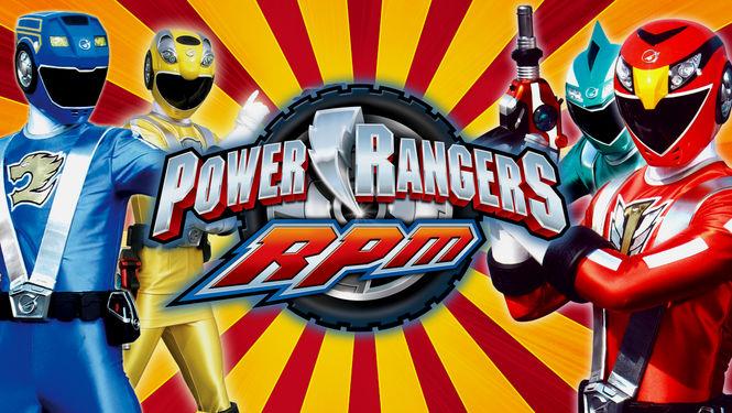 Netflix Serie - Power Rangers RPM - Nu op Netflix
