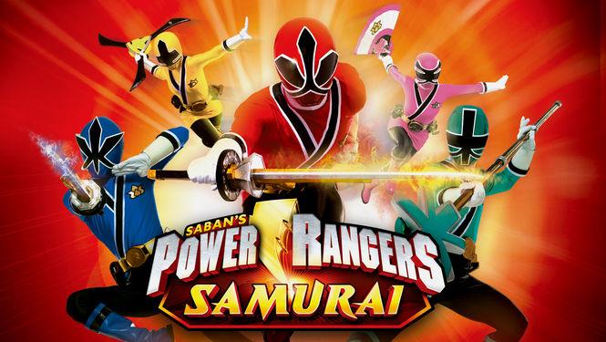 Netflix Serie - Power Rangers Samurai - Nu op Netflix