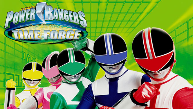 Netflix Serie - Power Rangers Time Force - Nu op Netflix