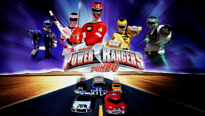 Netflix Serie - Power Rangers Turbo - Nu op Netflix
