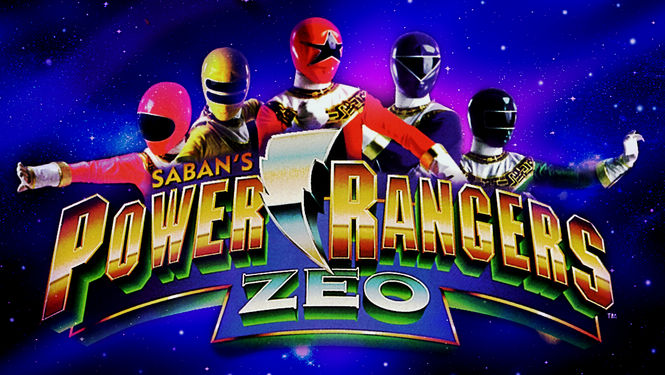 Netflix Serie - Power Rangers Zeo - Nu op Netflix