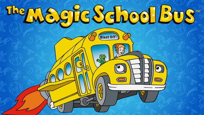 Netflix Serie - The Magic School Bus - Nu op Netflix