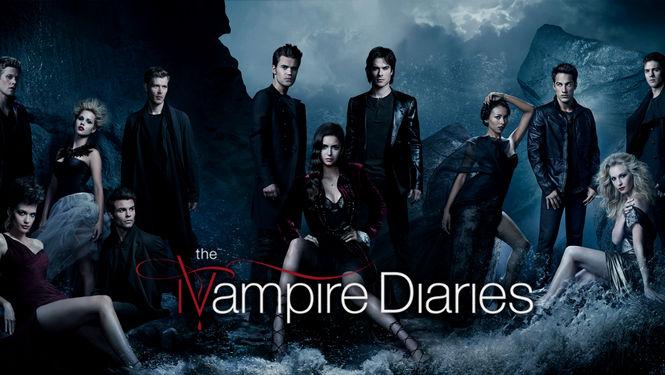 Netflix Serie - The Vampire Diaries - Nu op Netflix