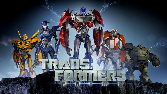Netflix Serie - Transformers Prime - Nu op Netflix
