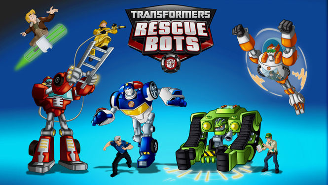 Netflix Serie - Transformers: Rescue Bots - Nu op Netflix