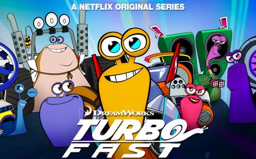 Netflix Serie - Turbo FAST - Nu op Netflix