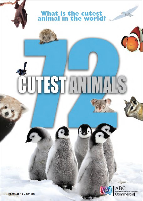 Netflix Serie - 72 Cutest Animals - Nu op Netflix