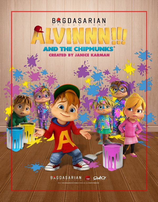 Netflix Serie - Alvinnn!!! And the Chipmunks - Nu op Netflix