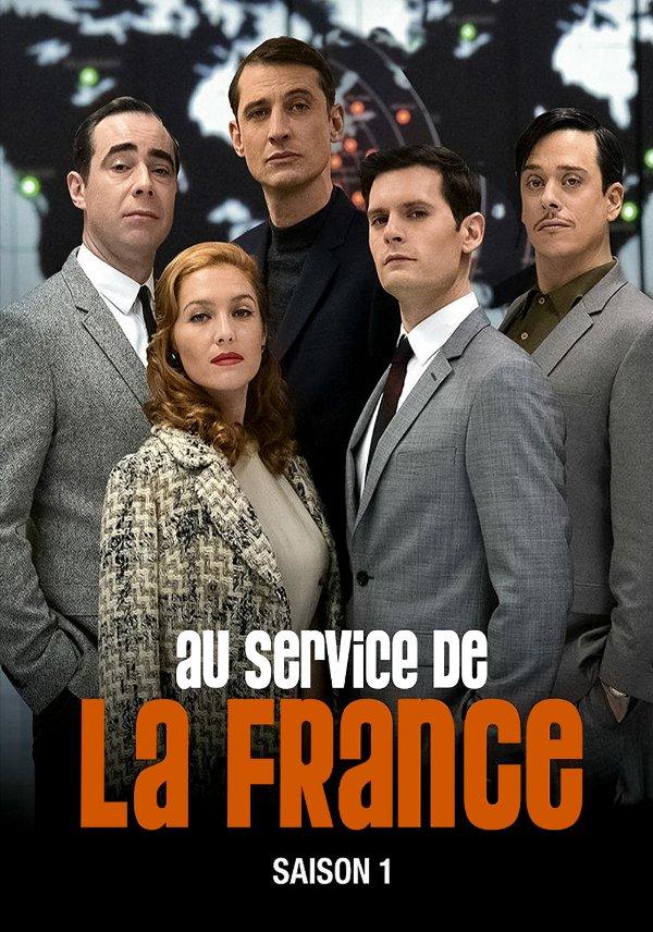 Netflix Serie - Au service de la France - Nu op Netflix