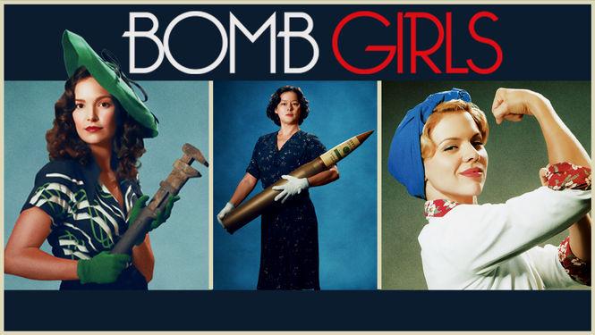 Netflix Serie - Bomb Girls - Nu op Netflix