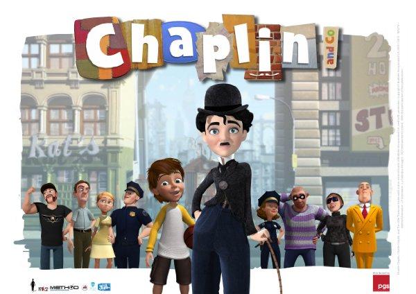 Netflix Serie - Chaplin & Co - Nu op Netflix