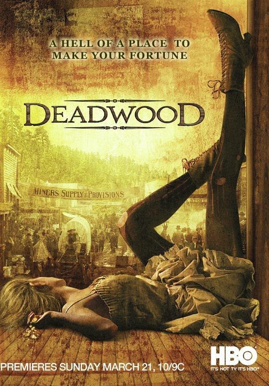 Netflix Serie - Deadwood - Nu op Netflix