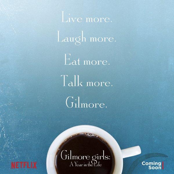 Netflix Serie - Gilmore Girls: A Year in the Life - Nu op Netflix