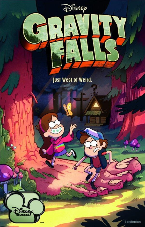Netflix Serie - Gravity Falls - Nu op Netflix