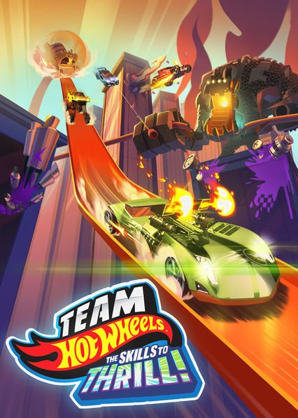 Netflix Serie - Hot Wheels: The Skills to Thrill - Nu op Netflix