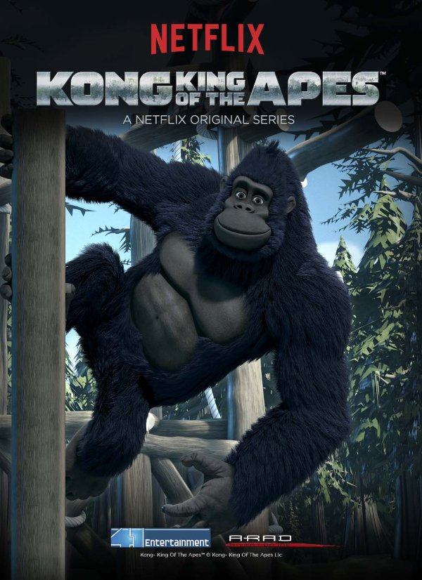 Netflix Serie - Kong: King of the Apes - Nu op Netflix