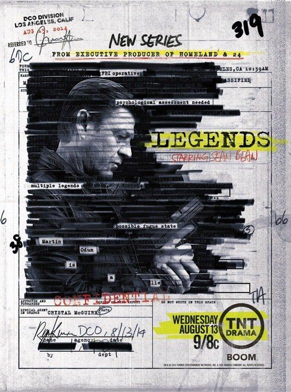 Netflix Serie - Legends - Nu op Netflix