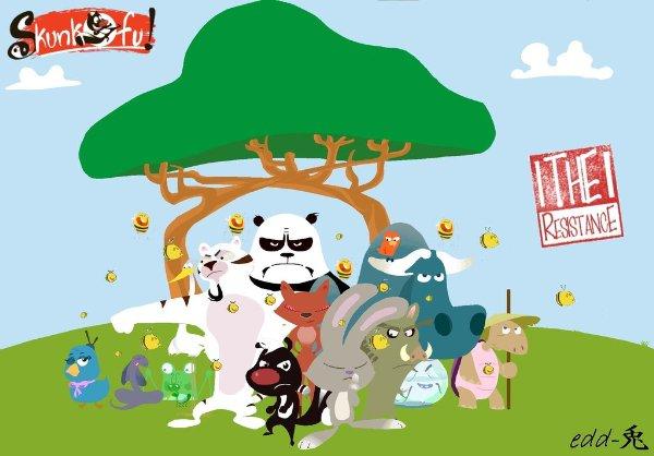 Netflix Serie - Skunk Fu! - Nu op Netflix