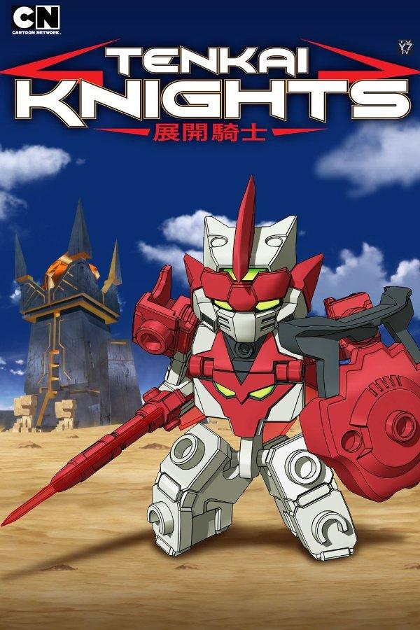 Netflix Serie - Tenkai Knights - Nu op Netflix
