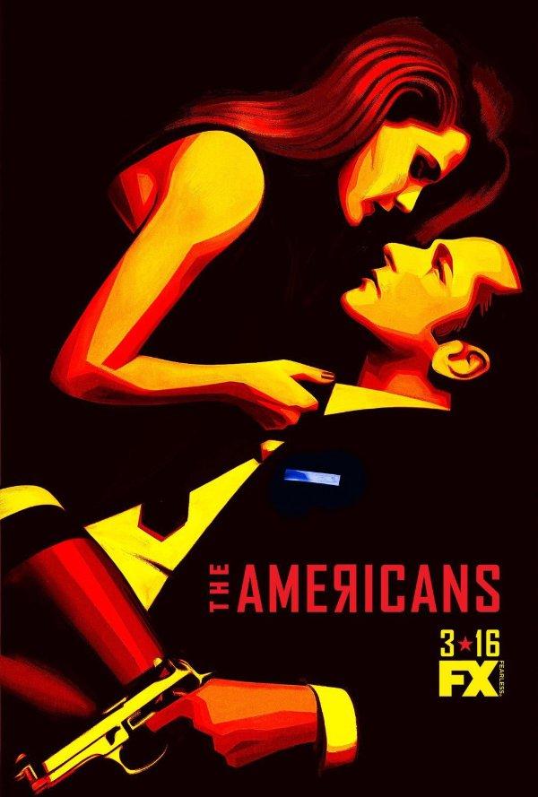 Netflix Serie - The Americans - Nu op Netflix