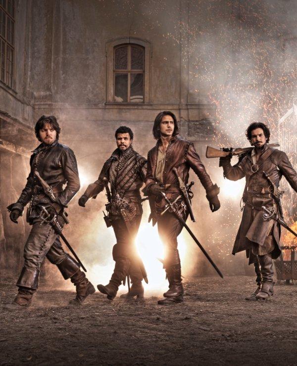 Netflix Serie - The Musketeers - Nu op Netflix