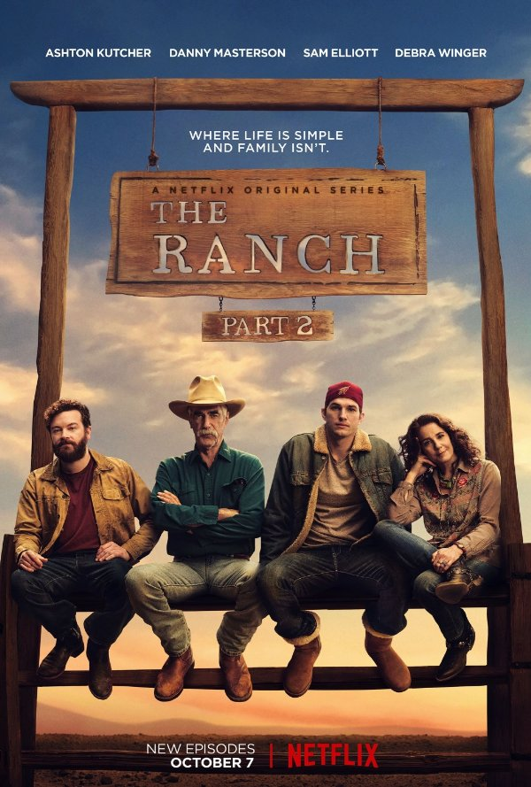 Netflix Serie - The Ranch - Nu op Netflix