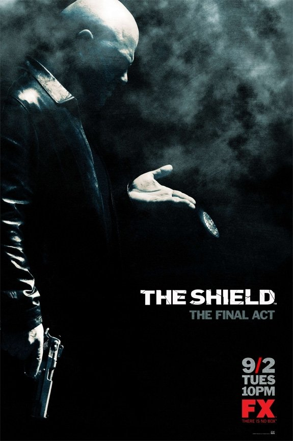 Netflix Serie - The Shield - Nu op Netflix