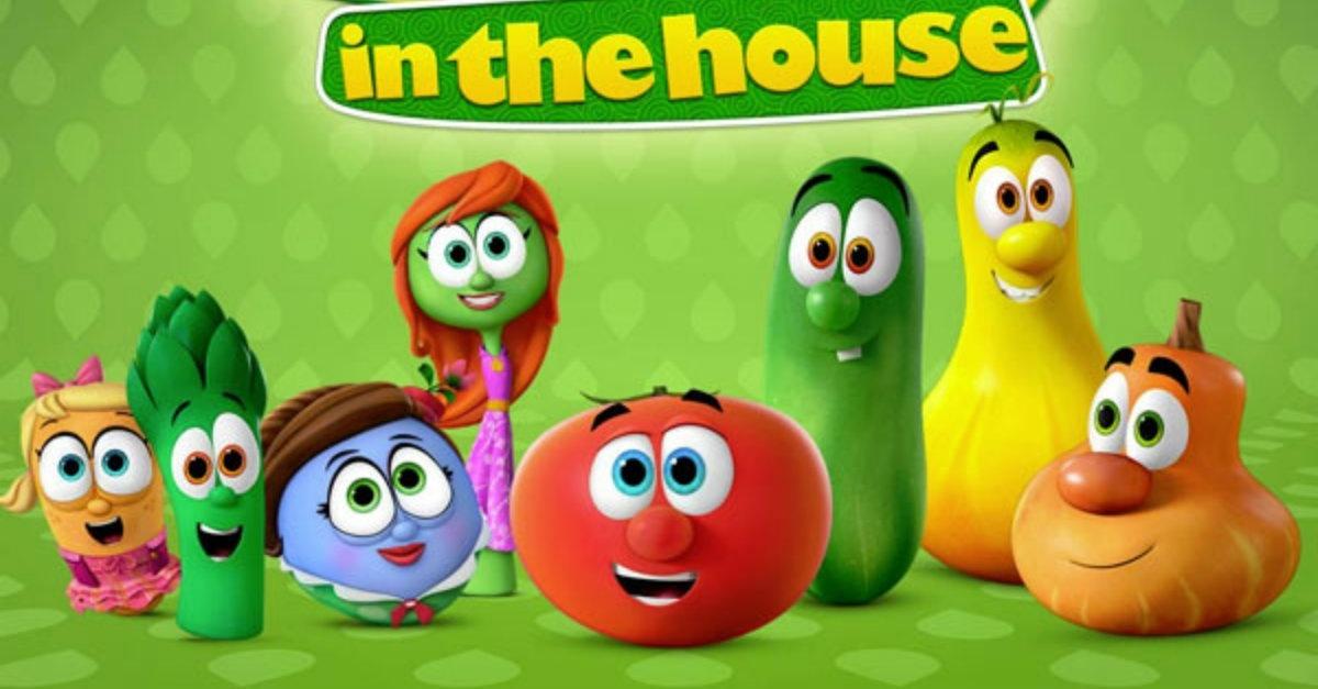 Netflix Serie - VeggieTales in the House - Nu op Netflix