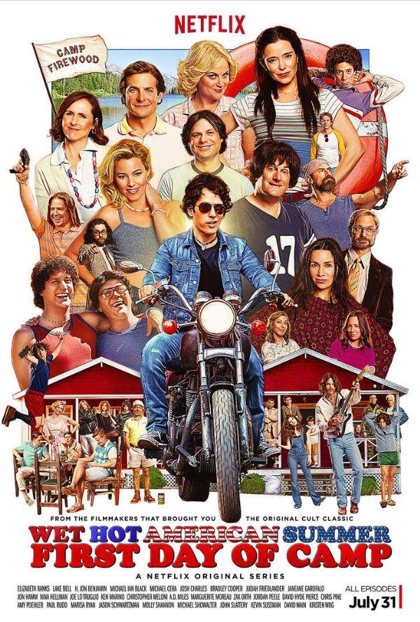 Netflix Serie - Wet Hot American Summer: First Day - Nu op Netflix