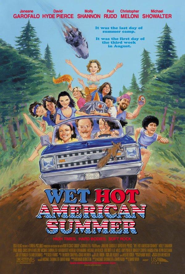 Netflix Serie - Wet Hot American Summer - Nu op Netflix