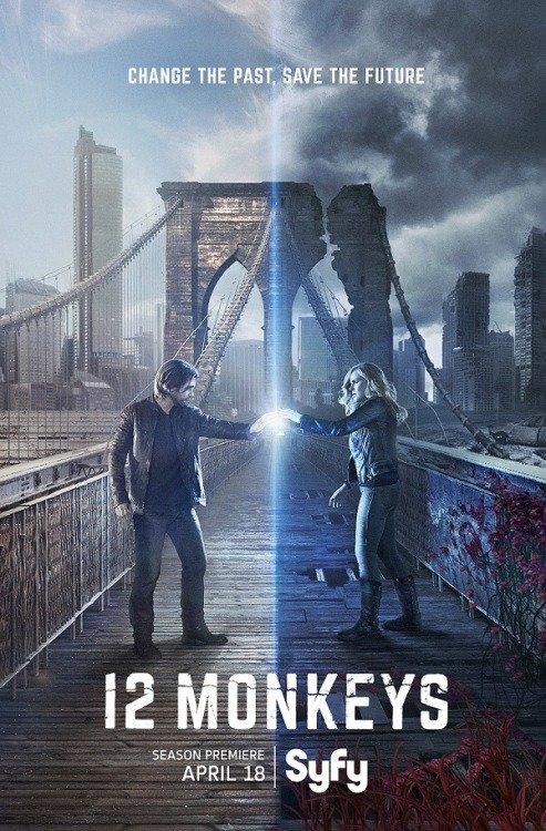 Netflix Serie - 12 Monkeys - Nu op Netflix
