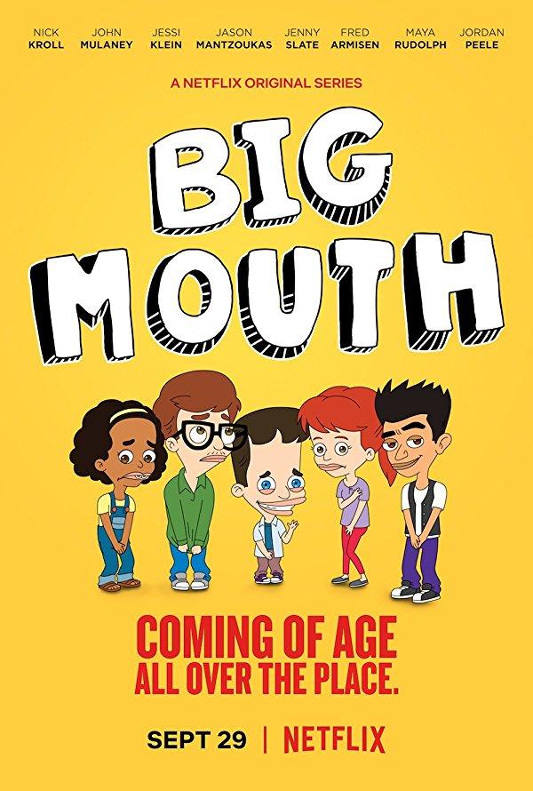 Netflix Serie - Big Mouth - Nu op Netflix