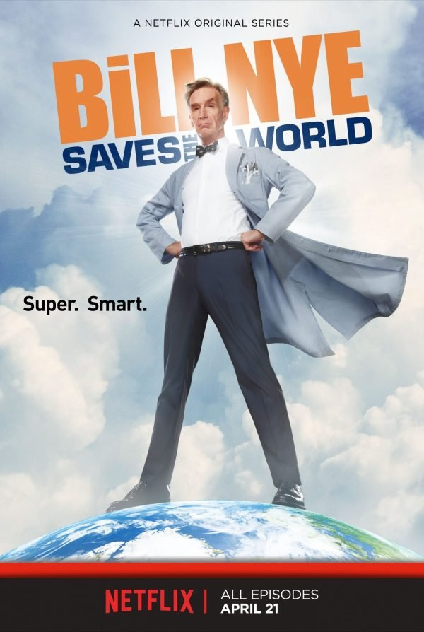 Netflix Serie - Bill Nye Saves the World - Nu op Netflix