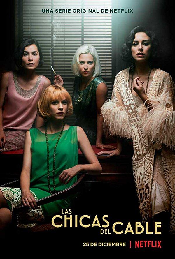 Netflix Serie - Cable Girls - Nu op Netflix