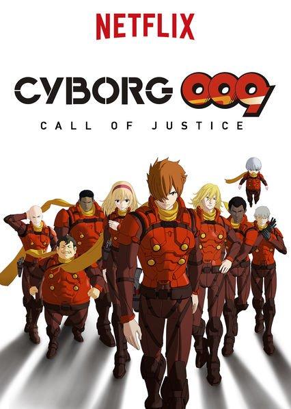 Netflix Serie - Cyborg 009: Call of Justice - Nu op Netflix