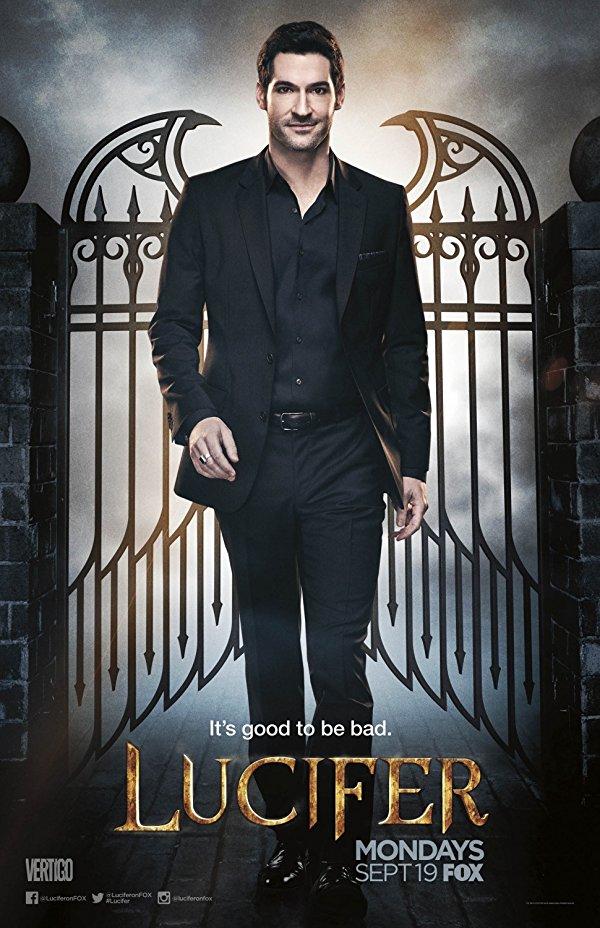 Netflix Serie - Lucifer - Nu op Netflix