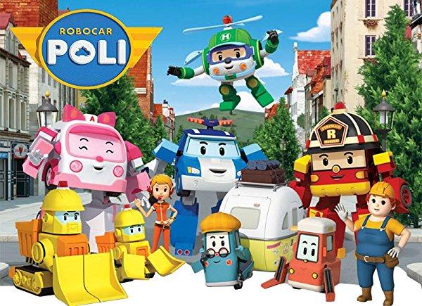 Netflix Serie - Robocar Poli - Nu op Netflix