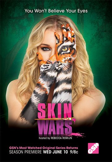 Netflix Serie - Skin Wars - Nu op Netflix