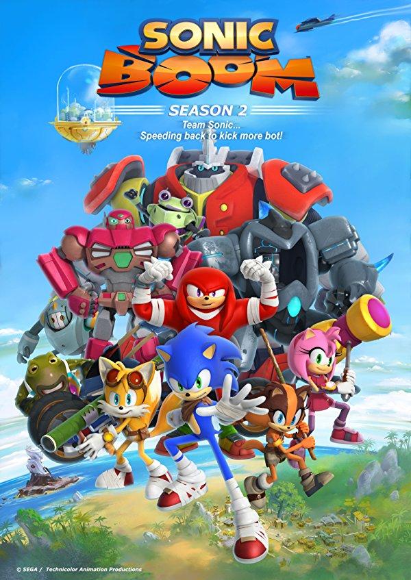 Netflix Serie - Sonic Boom - Nu op Netflix