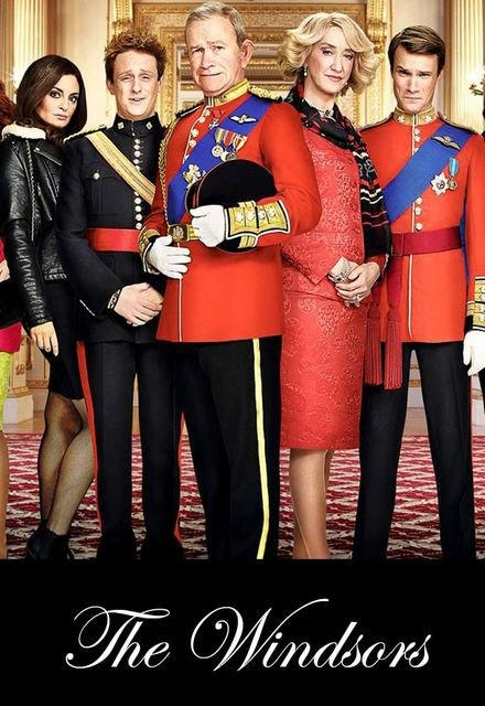 Netflix Serie - The Windsors - Nu op Netflix