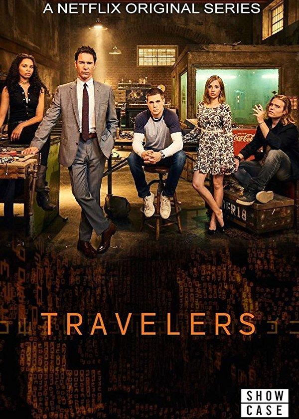 Netflix Serie - Travelers - Nu op Netflix