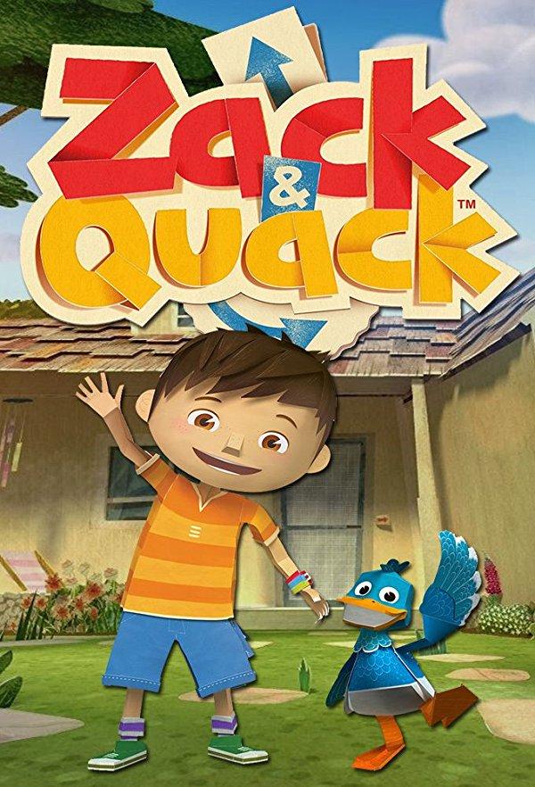 Netflix Serie - Zack and Quack - Nu op Netflix